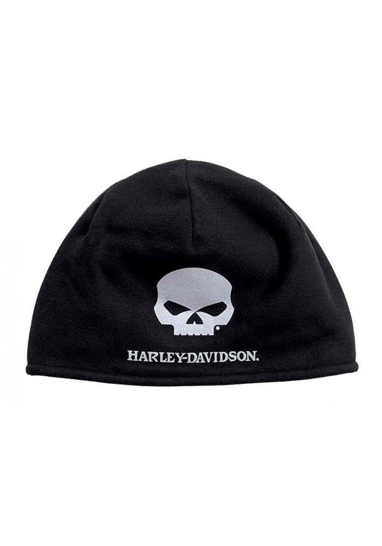 Harley-Davidson Men s Willie G Skull Cold Weather Fleece Hat- Black  99430-16VM - CE188467ZDW - Hats   Caps 0a5997854bd