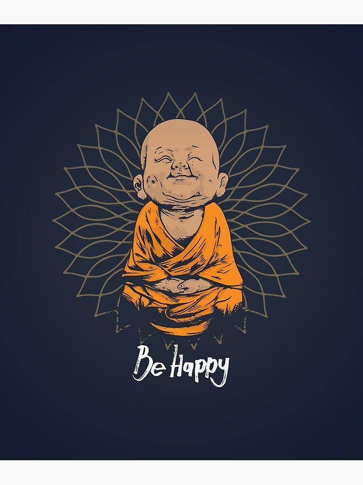 Sie sind der einzige, der dafür verantwortlich ist, glücklich zu sein. Sei einfach! Tolle Geschenkidee für jeden Anlass. Leinwanddruck von Chilling Nation