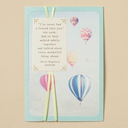 Karen Kingsbury - Encouragement - Follow Your Dreams - 6 Premium Cards