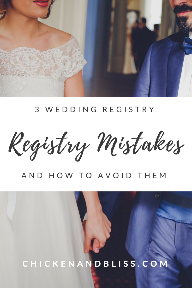 3 Wedding Registry Mistakes And How To Avoid Them Wedding Registry Wedding Wedding Applications
