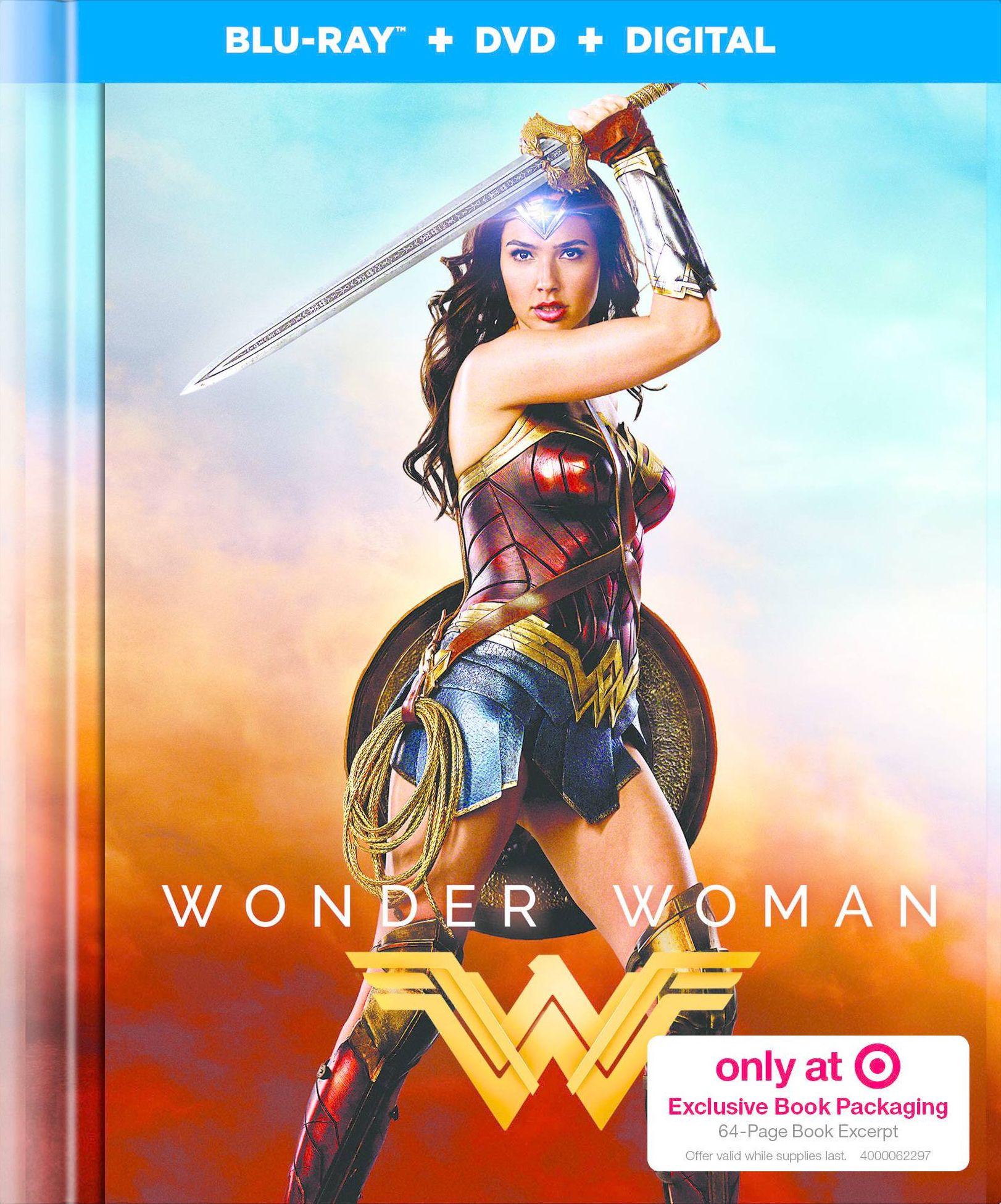 Wonder Woman Target Exclusive Blu Ray Digibook Warner Wonder Woman 2017 Poster Wonder Woman Movie Wonder Woman