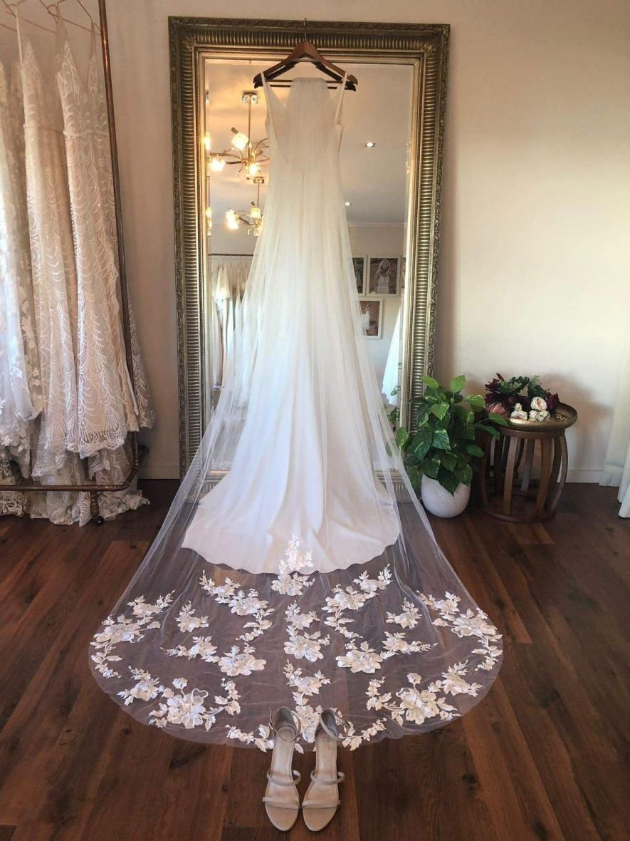 Stevie Veil Veil Bridal Style Stevie Dress