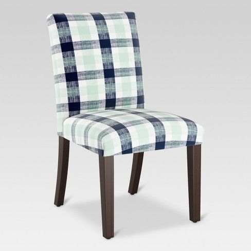 Parsons Dining Chair Navy/Green - Threshold™ | Parsons ...