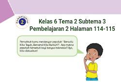 Kunci Jawaban Buku Tematik Tema 4 Kelas 6 Halaman 75 76 78 79 80 82 Koesrow Buku Belajar Berkelas