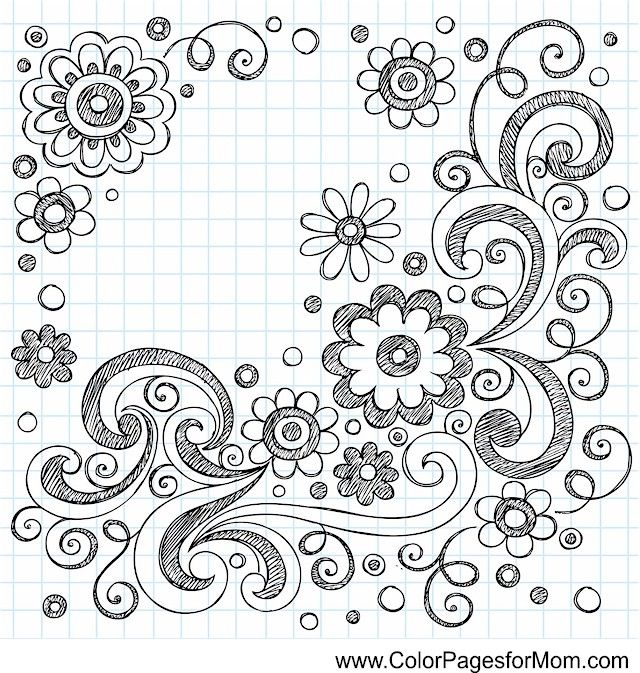 Whimsy Coloring Page 90 Notebook Doodles How To Draw Hands