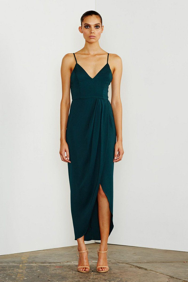 7784eebc181 Core cocktail dress - seaweed