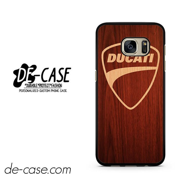 Ducati Wood DEAL-3752 Samsung Phonecase Cover For Samsung Galaxy S7 / S7 Edge