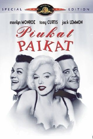 5,95€. Piukat Paikat - Some Like it Hot - Special Edition (DVD)