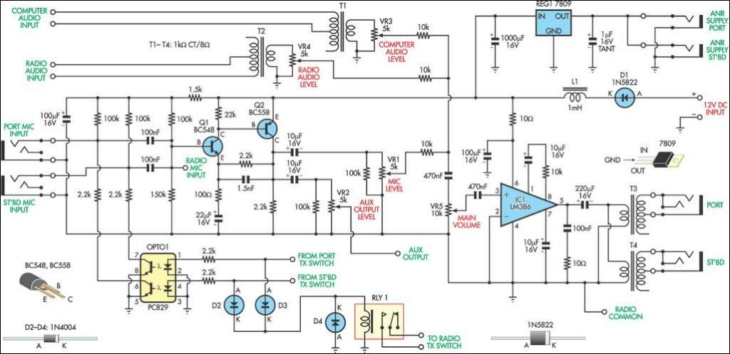 Aviation Intercom Circuit Diagram Aeroclube – Intercom Wiring-diagram