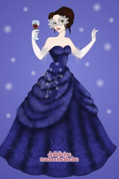 A Masquerade In Blue By Rose Renee Created Using The Princess