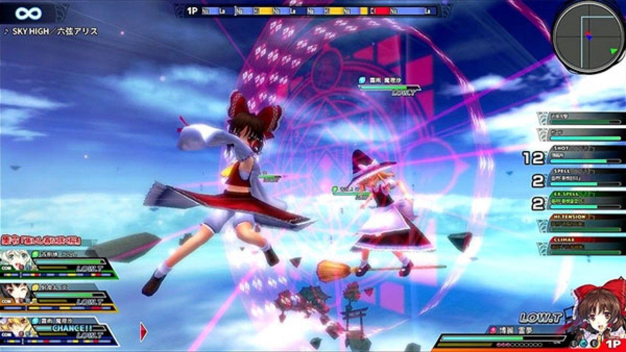 Retrasado en Japón el lanzamiento de Touhou Sky Arena para PS4