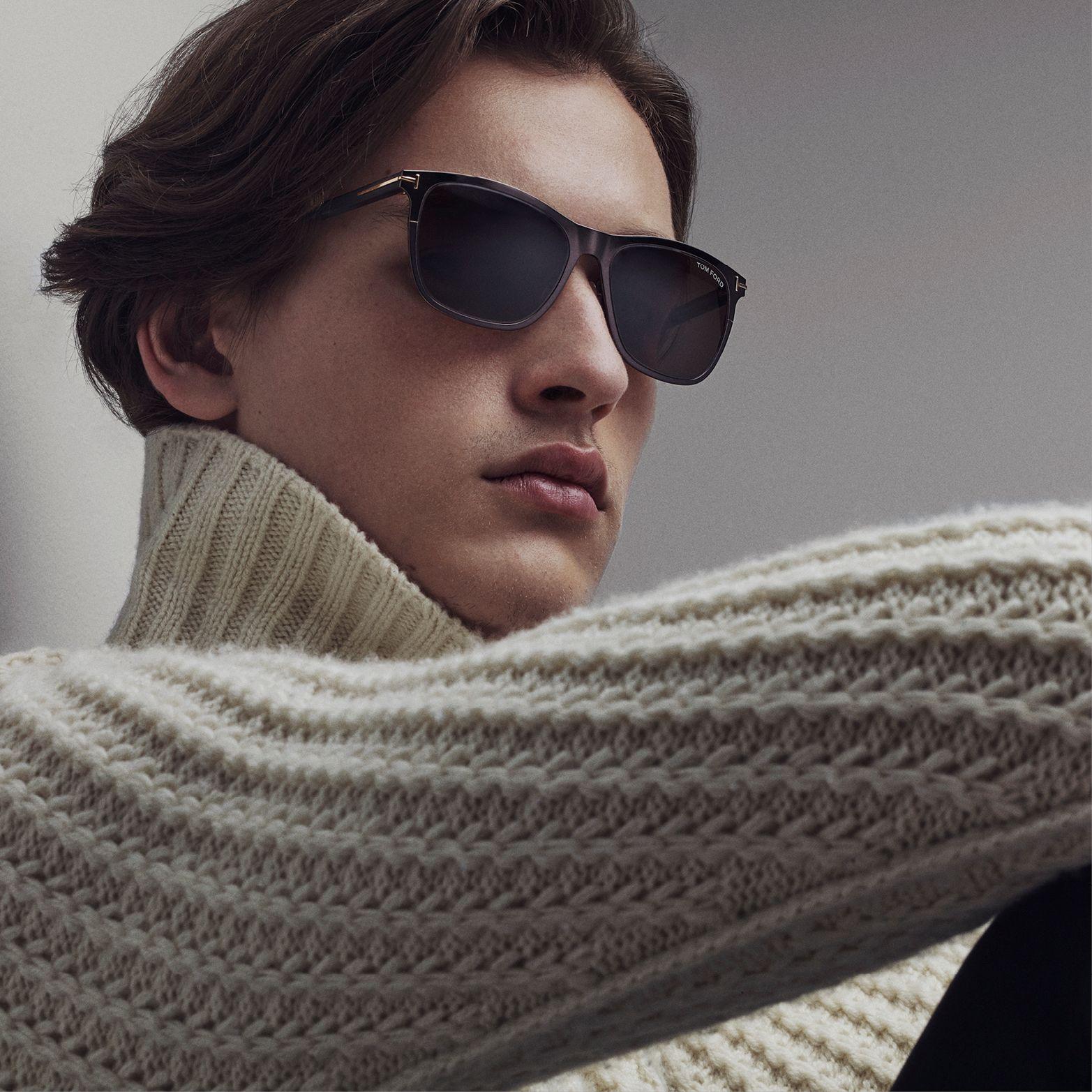 9f5c669a6 Matte Black Alasdhair Sunglasses. #TOMFORD Sunglasses Women Designer, Men  Sunglasses Fashion, Tom