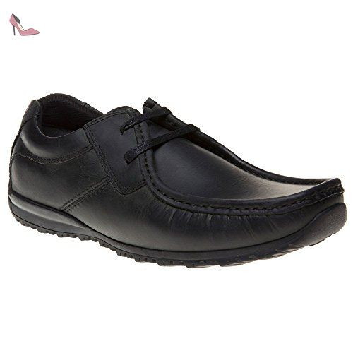 Homme Chaussures London Base Noir Mafia c3RAjq54L