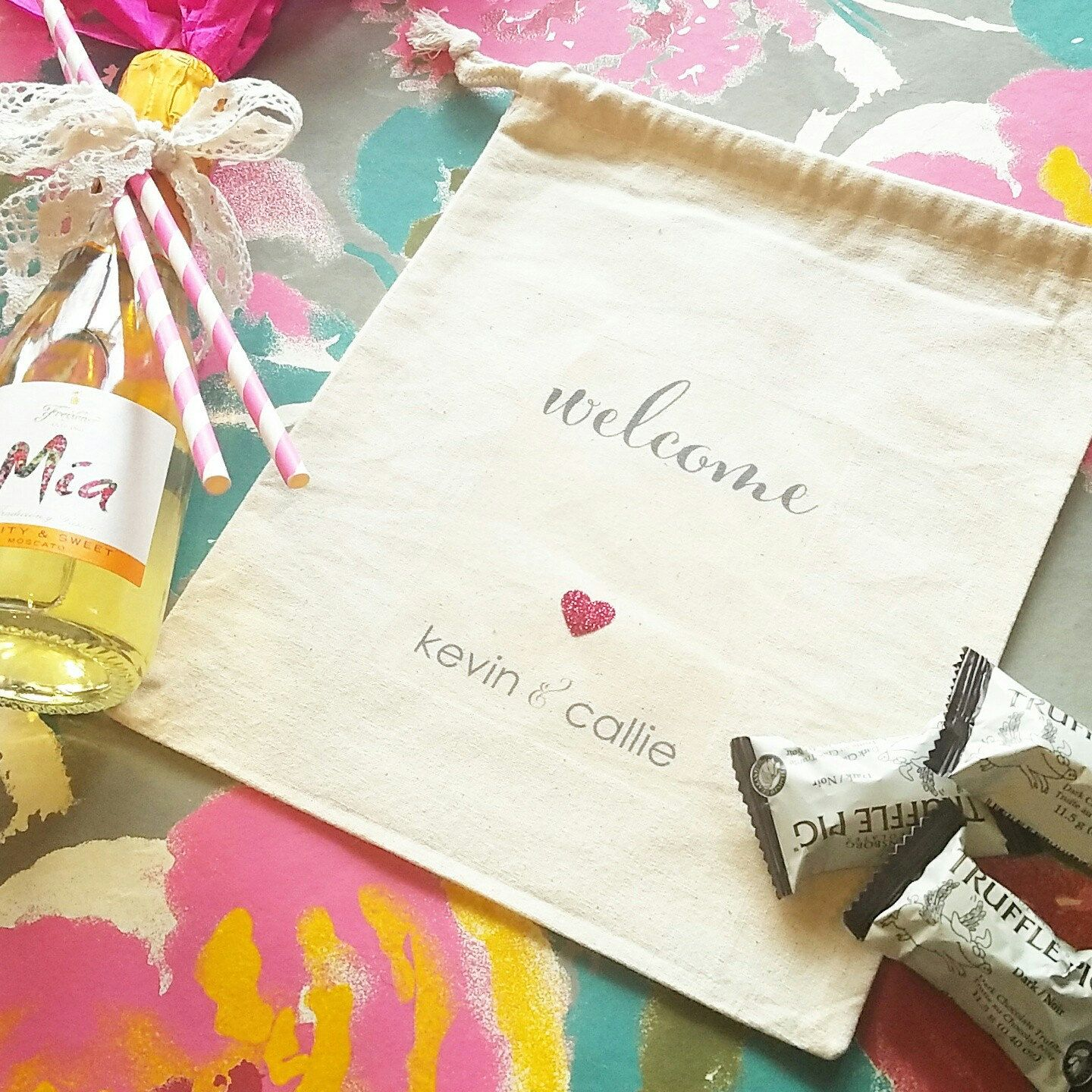 Wedding Favor Bags Personalized | Giftwedding.co