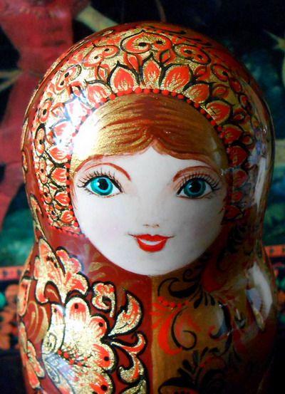 Russian author's nesting dolls matryoshka handmade.  https://www.etsy.com/listing/103032809/russian-authors-nesting-dolls-matryoshka