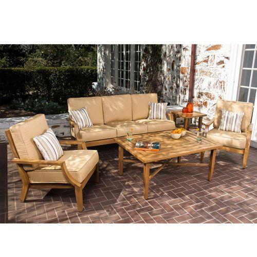 Costco Ellery 5 Piece Deep Seating Set By Woodard