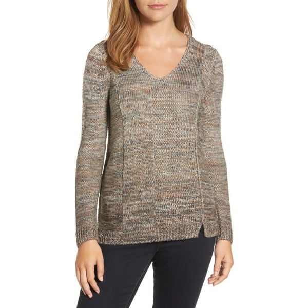 Women's Nic Zoe Textured Ombre Sweater (4.315 UYU) ❤ liked on ...