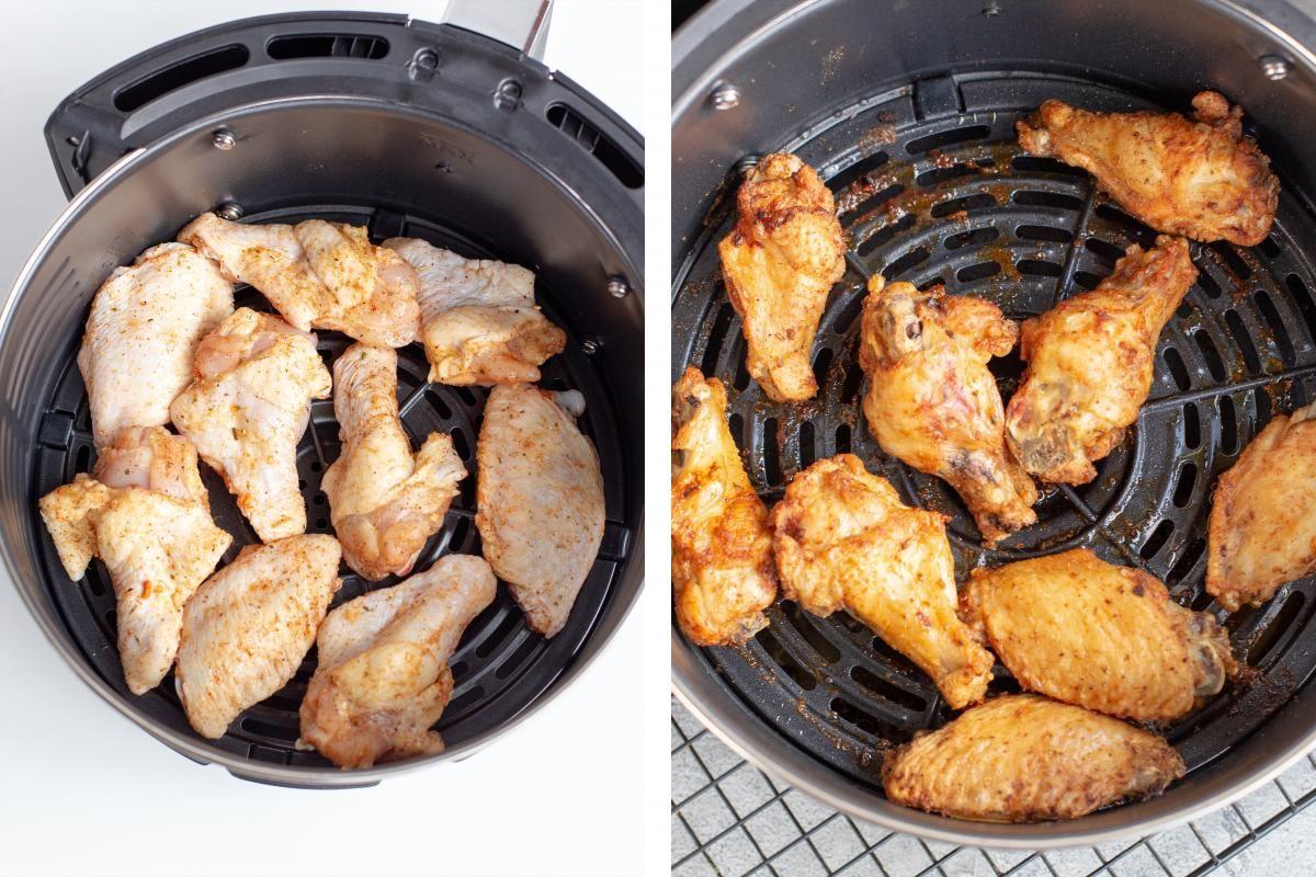 Easy air fryer chicken wings momsdish in 2020 air