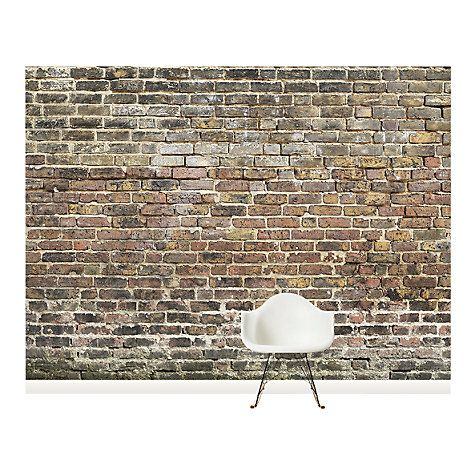 Buy surface view old bricks wall mural 360 x 265cm online at johnlewis com