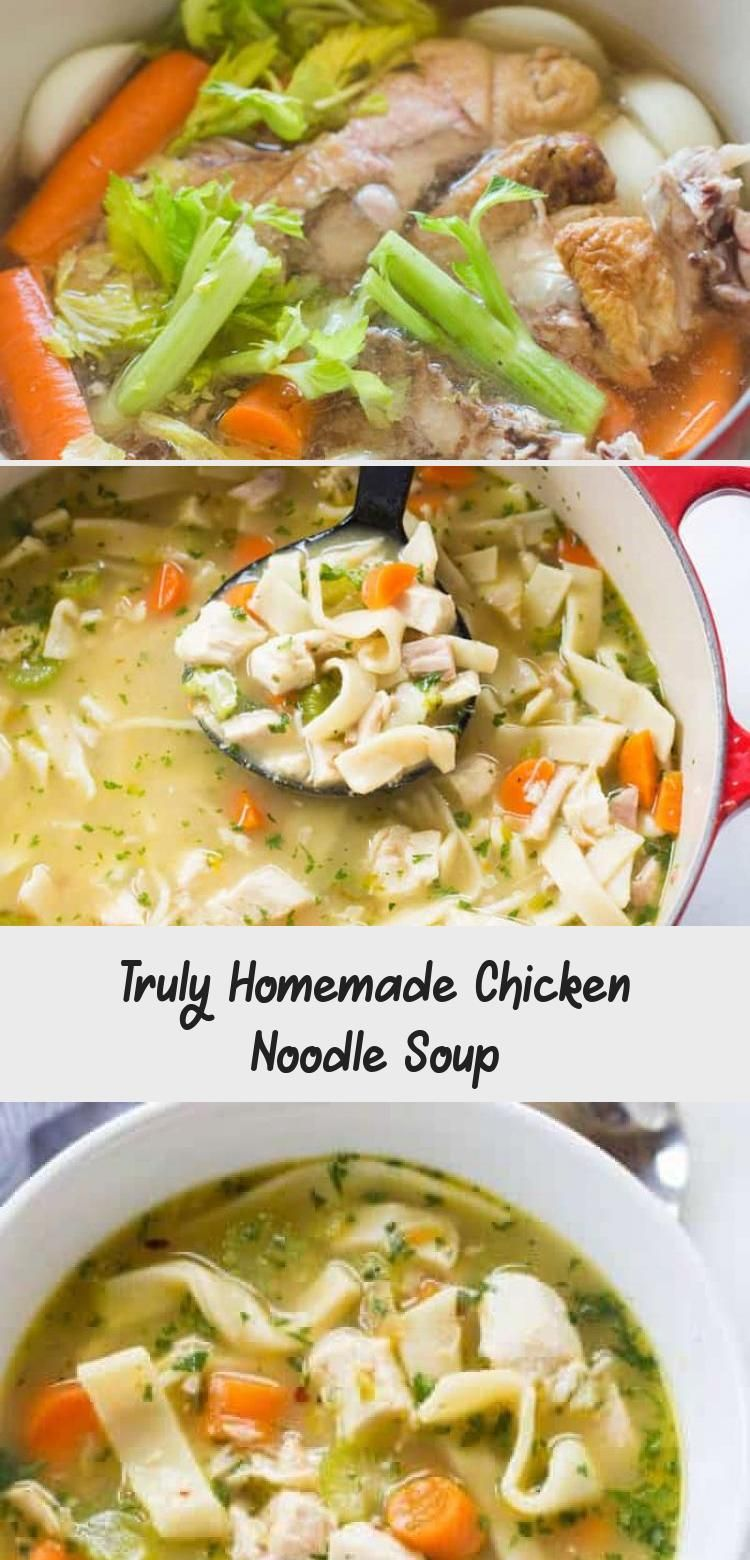the best chicken noodle soup you'll ever make, with
