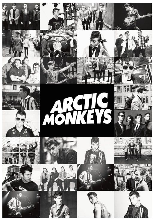Arctic Monkeys Poster Print by MusicPosters on Etsy ...