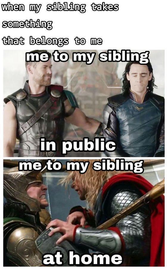 22 Loki And Thor Memes Frases Da Marvel Marvel Jokes Memes Realmente Engracados