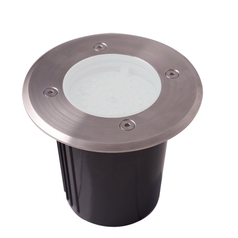 Spot A Encastrer Exterieur Diam 12 Cm Acier Inoxydable Lumihome Led Spots Et Lampe Bois