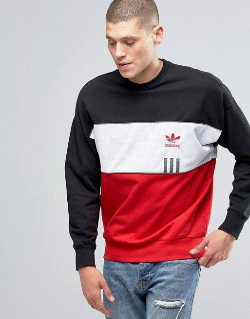 adidas Originals | adidas Originals ID96 Crew Sweatshirt In