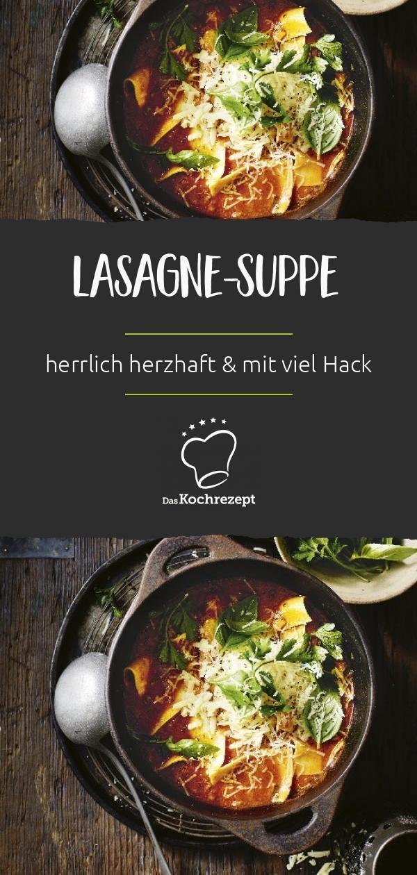 Lasagne-Suppe