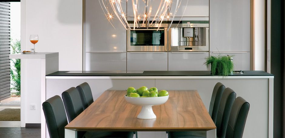 offener wohnbereich wand abreißen küche mit esszimmer theke, Esszimmer dekoo
