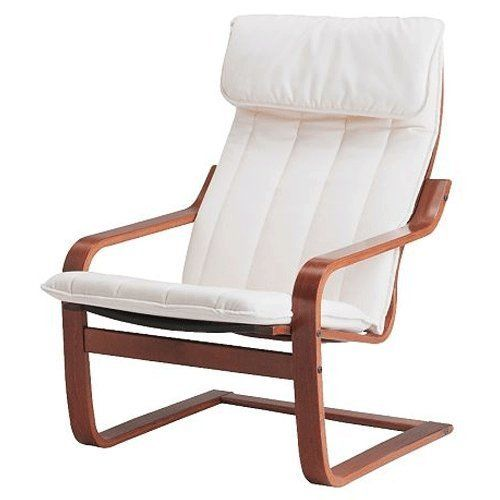 Ikea Poang Chair Living Room: Ikea Poang Chair Armchair With Cushion, Cover And Frame In