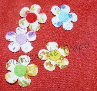 La tienda de manitas de trapo: Flores de vichy y estampadas......