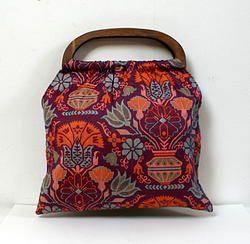 Sac vintage réversible, reversible vintage bag