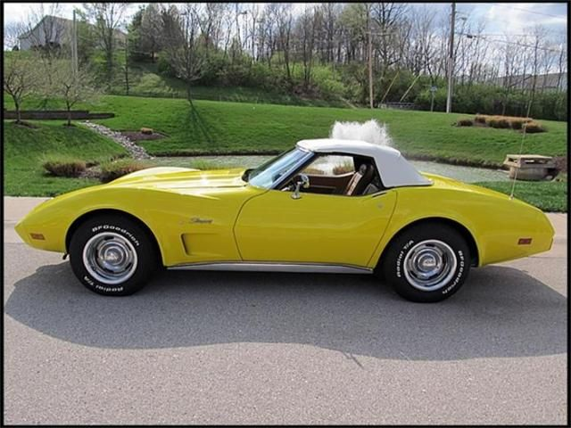 1975 corvette convertible - Owned mine from 1976 till 1982