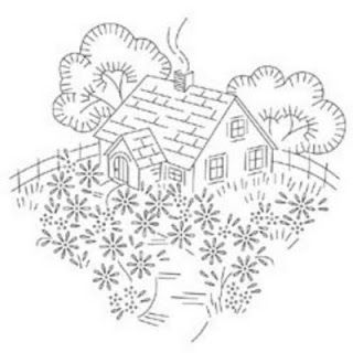 Yesteryear Embroideries: Embroidery Design To Share