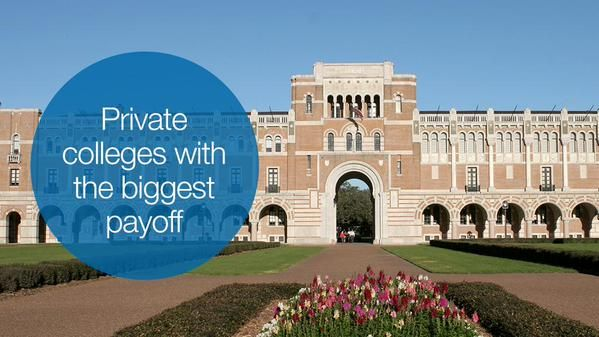 10 private colleges that'll give you the best bang for your buck. Is your school on the list? http://cnnmon.ie/1HPJhaO