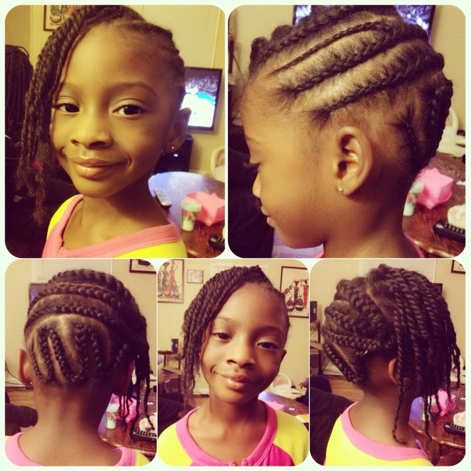 Quick Hairstyles For Braids Quick Hairstyles For Little Girls Hairstyles For Little Black