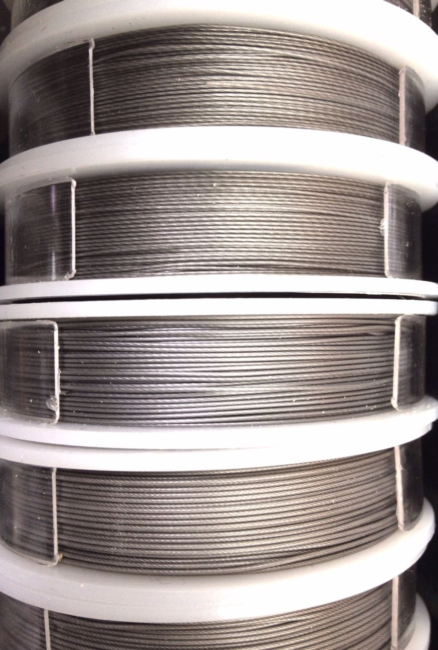 Fine, Medium and Heavy Gauge SoftFlex Stainless Steel Beading Wire ...