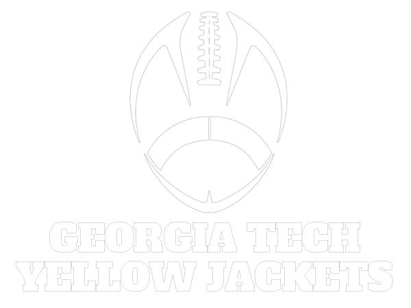 Printable Georgia Tech Yellow Jackets Coloring Sheet | College ...