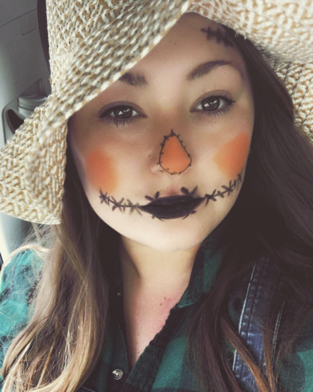 Scarecrow costume #scarecrowmakeup