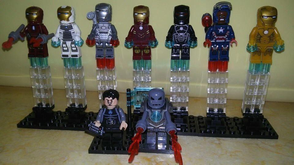 Figuras Tipo Lego Tony Stark Ironman Super Heroes Marvel - $ 60.50 ...