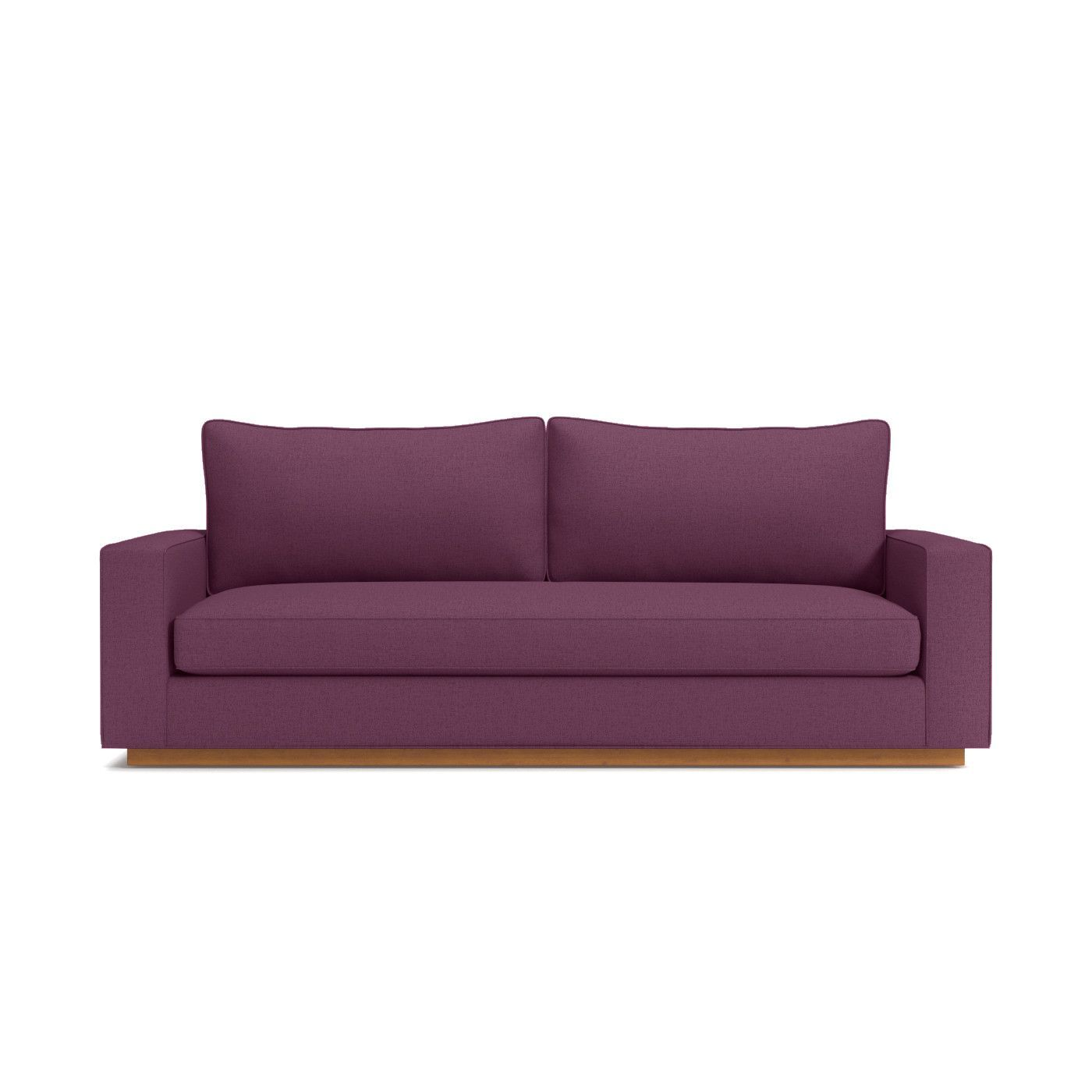 Harper Queen Size Sleeper Sofa Leg Finish Pecan Sleeper