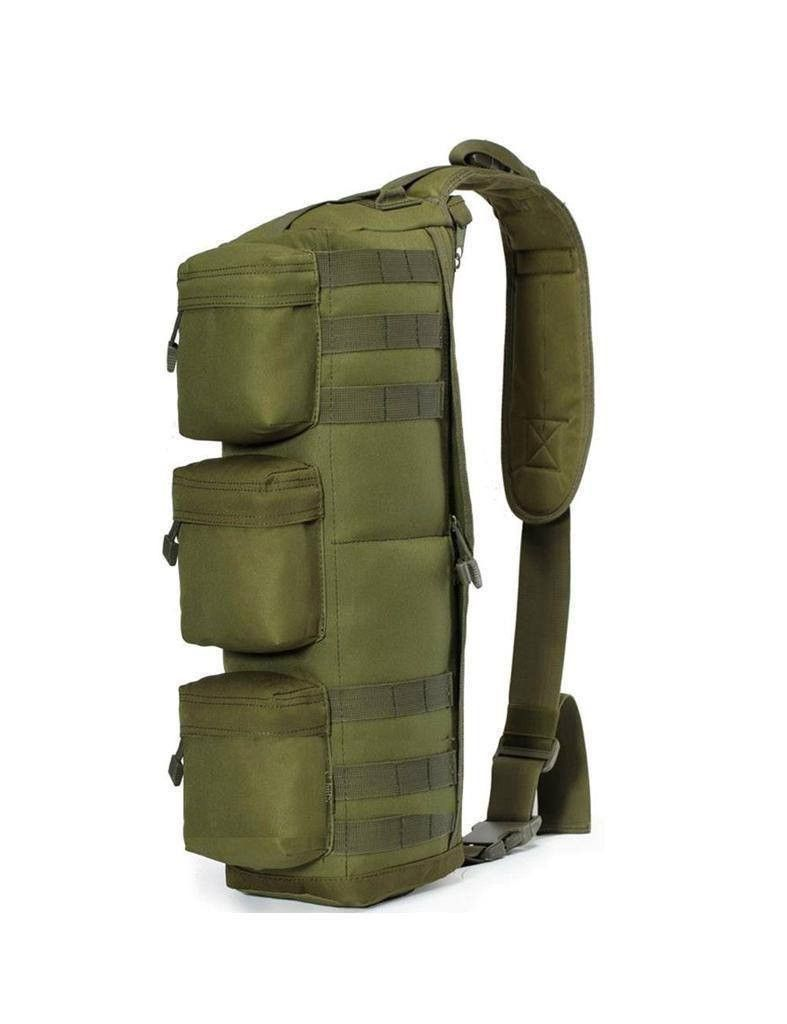 Outdoor Tactical Military Mountaineering Bag Tactical Backpack Camo Camping Shoulder Bag Cross Body Belt Sling Bags Ture 100% Guarantee Sports & Entertainment Camping & Hiking