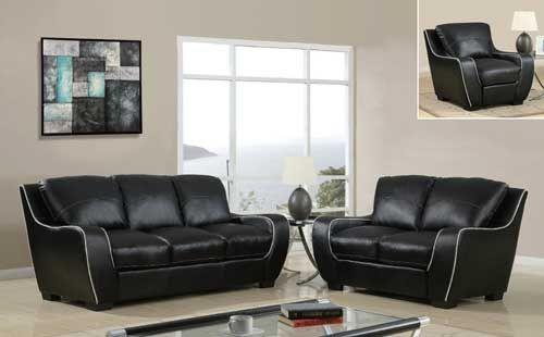 Contemporary Living Room Set   GL8080 BL  Puritan Furniture  CT.u0027s