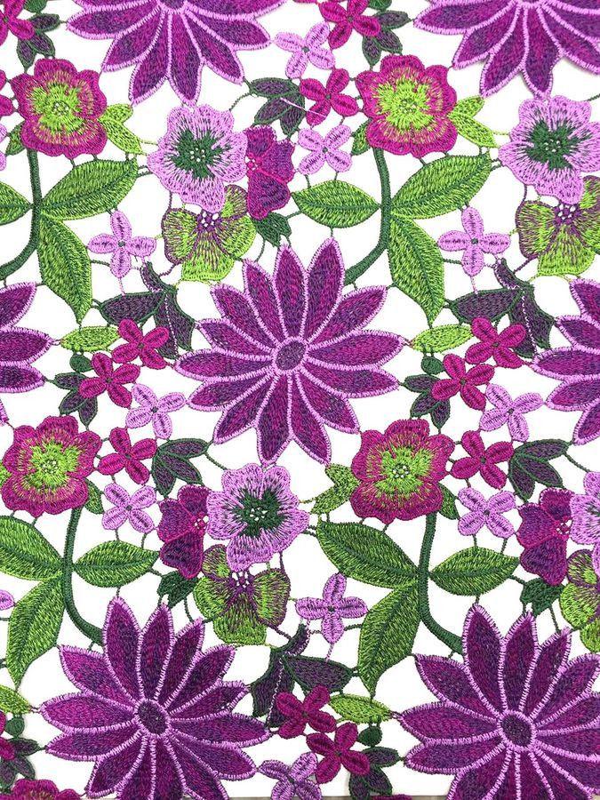Цветок ткань купить ярн 21 интернет магазин пряжи