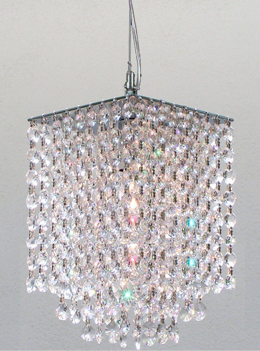 Modern Contemporary Crystal Pendant Chandelier Lighting H 9 X W 6