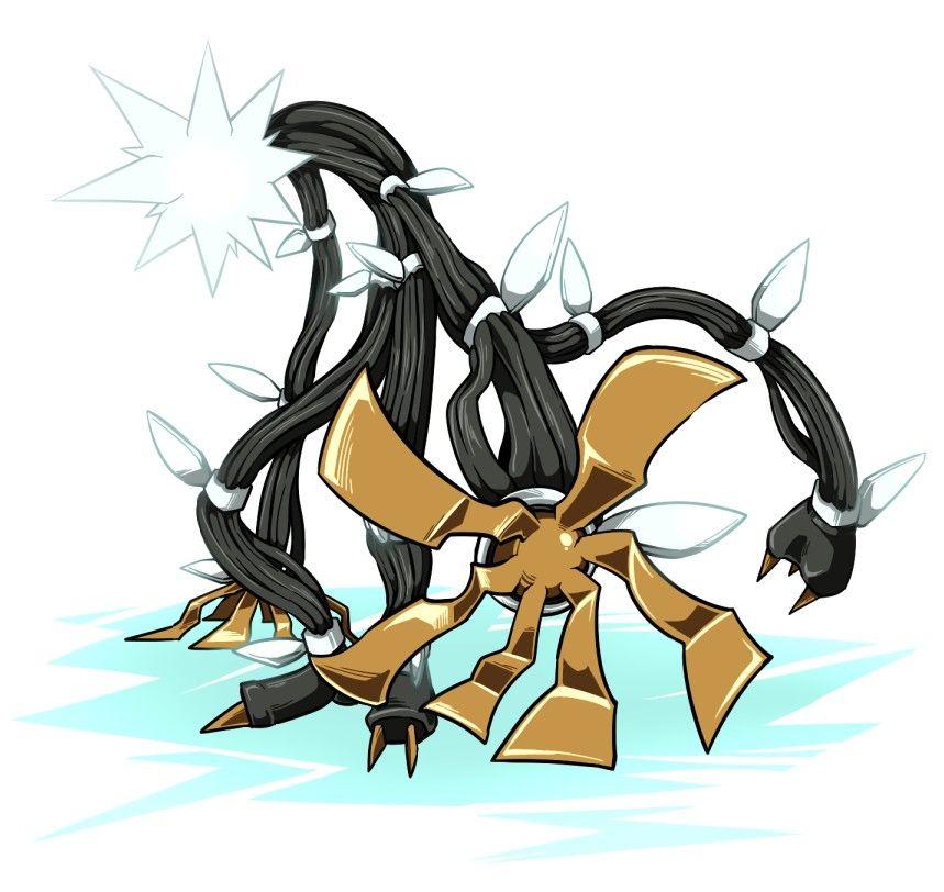 Xurkitree Cool Dragon Drawings Pokemon Fan Art Pokemon