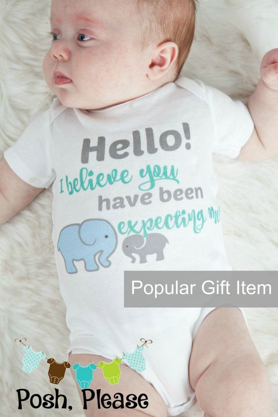 Go Hello World: Hello World Baby Outfit OnePiece Newborn Outfit Baby