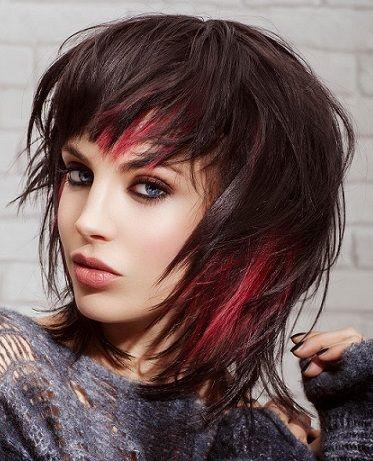 mujer estilo y belleza cortes modernos pelo medio corto