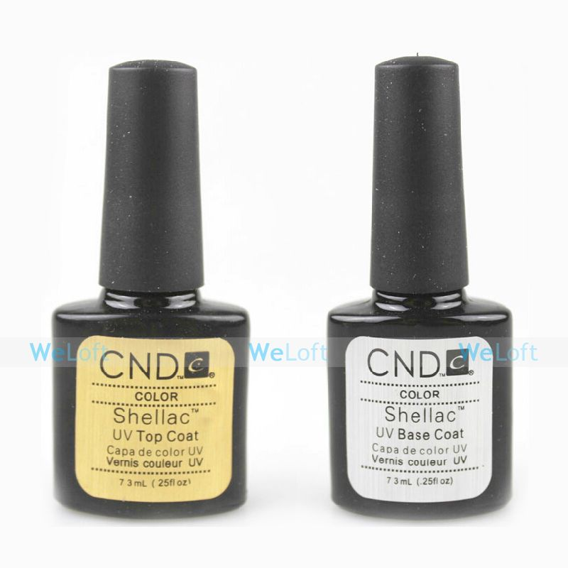 Find More Nail Polish Information about 2PCS/Lot Base Coat+Top Coat Soak Off  UV Gel Nail Polish Lacquer CND Shellac .25oz/7.3ml,High Quality coates street,China coated glove Suppliers, Cheap coat wool from WeLoft, we lofter! on Aliexpress.com